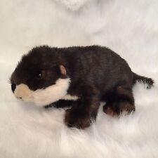 "LAST CALL K&M International Beaver 17"" Stuffed Animal Plush Collectable Toy 2006"