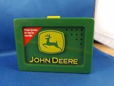 JOHN DEERE TALKING SOUND BOX TOY PUSH BUTTON BELT ATTACHMENT 5 SOUNDS