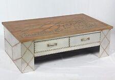 Vintage Conception Industrielle Table basse avec tiroirs rétro D'appoint 505