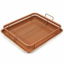 New listing Copper Chef Nonstick Copper Crisper Pan, 12 x 18 Inch Deluxe
