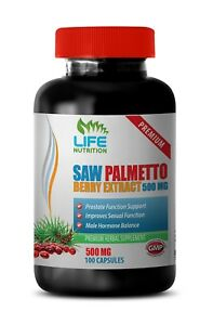 saw palmetto hair loss - Saw Palmetto Berry 500mg - testosterone natural 1B