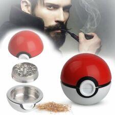 55mm Pokeball Grinder Broyeur Pokemon Go Tobacco Grinder Perfect Christmas Gift