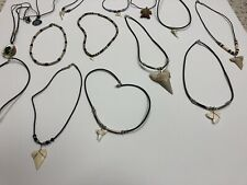 Shark Tooth Necklaces 1 Dozen