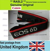 Original Genuine Canon Strap EOS 6D Neck Shoulder Strap EOS6D  EW-EOS6D