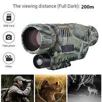 32G Night Vision Cam Monocular IR Surveillance Gen Goggles Binoculars