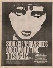Siouxsie LP advert 1981