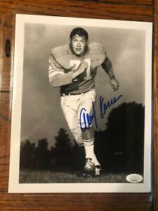 Alex Karras Pro FB HOF, CFHOF Photo