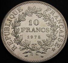 FRANCE 10 Francs 1972 - Silver - aUNC -2232 ¤