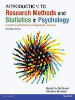 Introduction to Research Methods and Statistics in Psychology: A practical guide