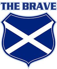 PREMIUM Aufkleber Schottland the brave Wappen Autoaufkleber Auto Biker Sticker