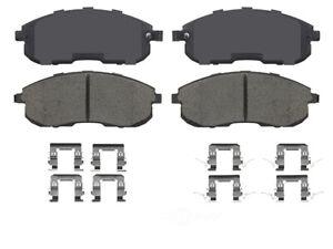 Disc Brake Pad Set-Premium Semi-Metallic Brake Pads Front IDEAL PMD815