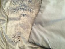 Frozen II Fearless Journey Crushed Velvet  Blue Standard Pillow Sham nwop