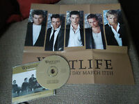 Westlife Tonight RARE CD Single + Poster