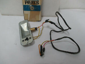 Mopar NOS 1968 Plymouth Fury Interior Map Lamp Switch and Housing 2864226