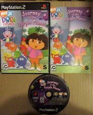 NICK JR. DORA THE EXPLORER JOURNEY TO THE PURPLE PLANET COMPLETE PLAYSTATION 2