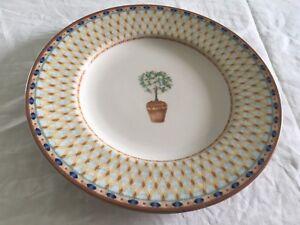 """Tesco (Johnson Brothers) lemon tree salad plate (8.25"""")"""