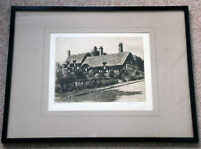 Stunning original etching pencil signed by Peter Grahame 'Anne Hathways Cottage'