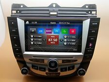 "8"" Multimedia Car Radio DVD Player GPS Navigation For Honda Accord 7th+Free Maps"