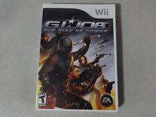 G.I. Joe: Rise Of Cobra - Original Nintendo Wii Video Game Complete Free Ship