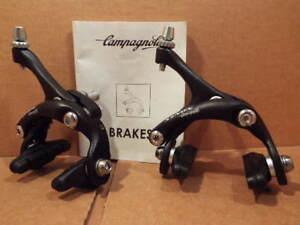 New-Old-Stock Campagnolo Xenon Brake Caliper Set...Dual Pivot w/Black Finish