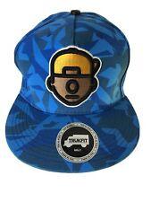 Trukfit Sky Blue Huge Logo Digital Camo Baseball Cap Hat