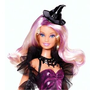 Halloween Barbie witch