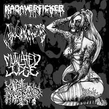KADAVERFICKER/MIXOMATOSIS/MUTILATED JUDGE/EL MUERMO - 4 Way Split EP Gutalax CBT