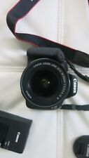 Great Condition, Canon Rebel T5 Eos 1200D, with battery & 18-55mm Is Ii lens