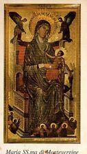 376 Maria SS.ma di Montevergine   santino holycard