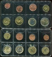 CYPRUS SET 8 COIN 1 2 5 10 20 50 CENT 1 2 EURO 2008 AUNC SEE SCAN