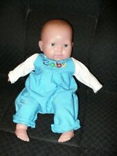 "16"" Realistic Sleep Eye Baby Doll, Original Overall & Shirt - Berenguer"