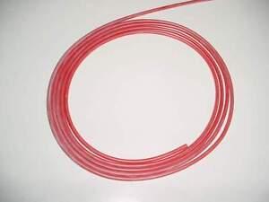 2,5 mm² qmm Silikonlitze / Silikonkabel 1m rot