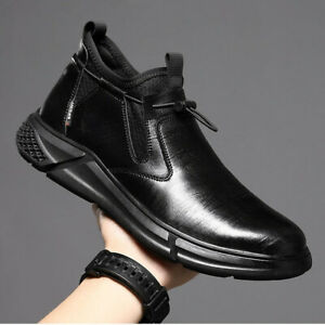 Men Casual Shoes Safety Composite Toe Waterproof Work Protective Hiking Boots 44
