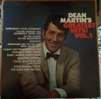 Dean Martin's Greatest Hits Vol. 1 LP Reprise 1968 RS 6301 Indianapolis pressing