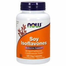 Soy Isoflavones 120 Veg Caps 60 mg by Now Foods