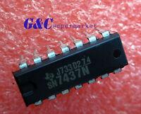 10PCS SN7437N DIP IC TI NEW