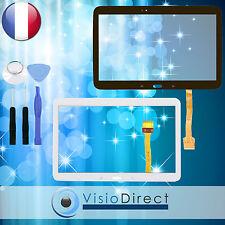 """Vitre ecran tactile pour Samsung Galaxy Tab 4 10.1"""" T530 T531 T535 noir ou blanc"""