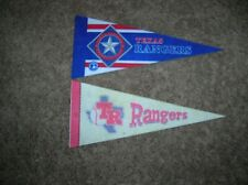 Texas Rangers mini pennant lot