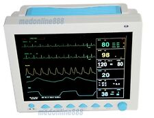 USA FDA ICU CCU Portable Patient Monitor Vital signs 6 parameters 12.1 inch LCD