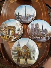 Limoges France 4 limited edition decor Collectors wall Plates Louis Dali