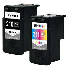 2PK Canon PG-210 XL CL-211 XL Black/Color Ink for Canon PIXMA MX340 MX350 MX360