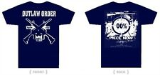 Outlaw Order - Legalize Crime NAVY BLUE Youth T-Shirt Size 10/12 - Eyehategod XS