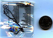 Froakie Pokemon League Keychain or Cell Phone Charm Season 3 Factory Sealed