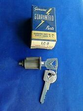NORS Guaranteed Lock Cylinder w/ Keys # LC-9 Ford Edsel Lincoln Mercury 1960-77