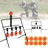 8E28 Target Shooting Swing Target Shooting Target Airsoft Paintball Reset