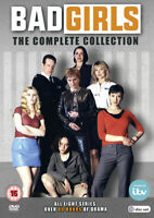 Bad Girls: The Complete Collection DVD (2017) Eva Pope cert 15 18 discs