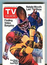 TV Guide Magazine January 23-29 1982 Super Bowl VG No ML 101316jhe