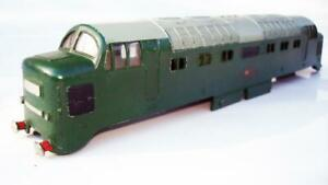 HORNBY DUBLO 2RAIL 2232 B.R.GREEN CO-CO DIESELCHASSIS ONLY EXCELLENT