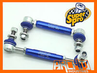 HOLDEN COMMODORE VY-VZ SEDAN & WAGON FRONT SUPERPRO ADJUSTABLE SWAY BAR LINK KIT
