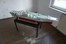 Flugzeugträger 1:200 Forrestal RC Modell Handarbeit Ferngesteuert